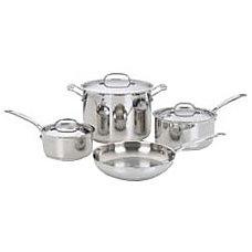 Cuisinart 7 Piece Chefs Classic Cookware