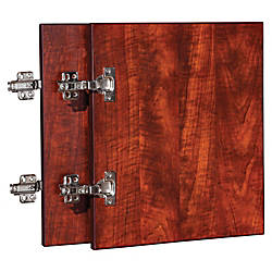 Lorell Essentials Cherry Wall Hutch Door