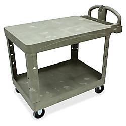 Rubbermaid Flat Shelf Utility Cart 33