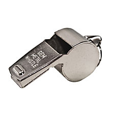Advantus Metal Whistle Silver