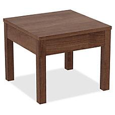 Lorell Corner Table Square Top 24