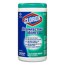 Clorox Disinfecting Wipes Fresh Scent 75
