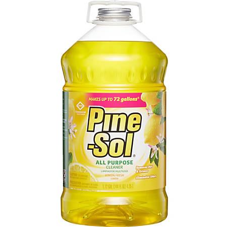 Clorox® Lemon Fresh Pine Sol, 144 Oz., Box Of 3