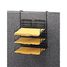 Safco Panelmate Triple Tray Basket 17