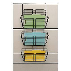 Safco Panelmate Triple Tray Basket 29