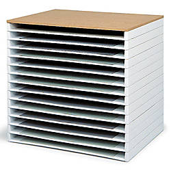 Safco Giant Stack Trays 3 H