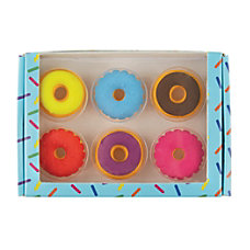 Office Depot Brand Pencil Erasers Donuts