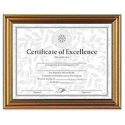Dax Burns Grp Antique colored Certificate