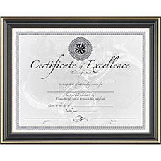 Dax Gold Trimmed Document Frame 9