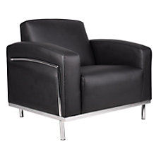 Boss CaressoftPlus Lounge Club Chair BlackSilver