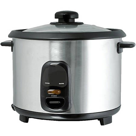 Brentwood 1.8 Liter Rice Cooker Stainless Steel