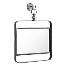 Zuo Modern Square 1 Mirror Black