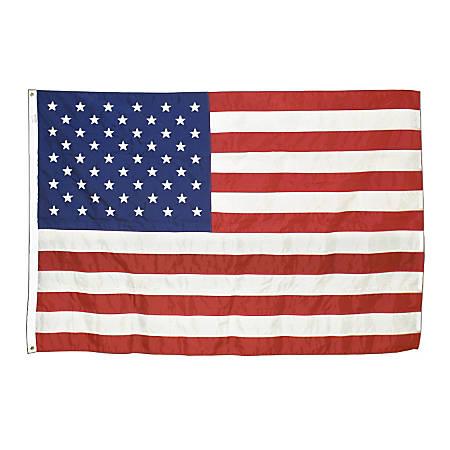Advantus Corp Outdoor U.S. Nylon Flag, 3' x 5'