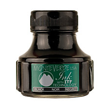 Monteverde Ink Bottle Black