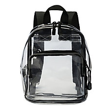 Office Depot Brand Clear Backpack Stadium