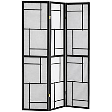 Monarch Specialties Bernie 3 Panel Folding