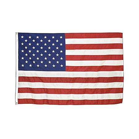 Advantus Corp Outdoor U.S.Nylon Flags, 5' x 8'