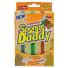 Scrub Daddy Sponge Daddy Dual Sided