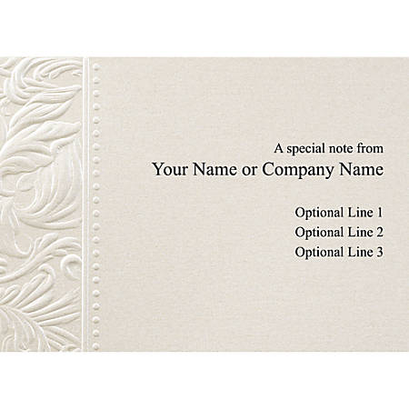custom printed stationery note cards 4 - Custom Folded Note Cards