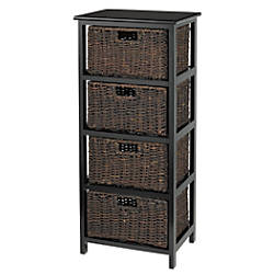 Luxury Low Storage Cabinet with Doors