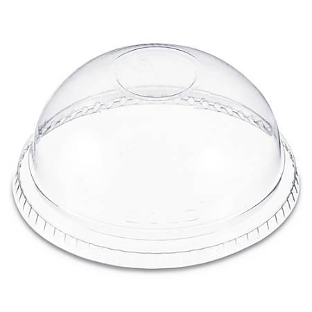 Dart® Plastic Dome Lids, For 6 - 22 Oz Cups, Clear, Carton Of 1,000 Lids