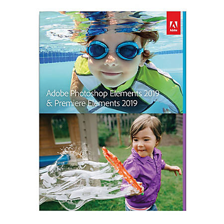 Adobe® Photoshop Elements 2019 And Premiere Elements 2019, For Apple® Mac®, Download Version