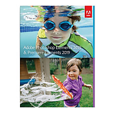 Adobe Photoshop Elements 2019 And Premiere