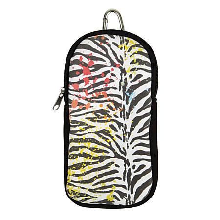 Calculator Case, Zebra