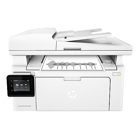 HP LaserJet Pro MFP M130fw Wireless All-In-One Printer, Scanner, Copier, Fax, G3Q60A#BGJ