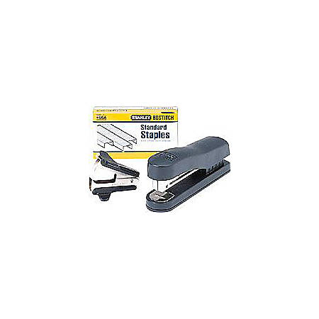 Bostitch® Compact Desktop Stapler Kit, Black