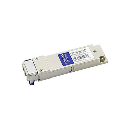 AddOn Arista Networks QSFP-40G-LR4 Compatible TAA Compliant 40GBase-LR4 QSFP+ Transceiver (SMF, 1270nm to 1330nm, 10km, LC, DOM)