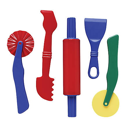 Creativity Street Clay Dough Tool Set, 5 Pieces