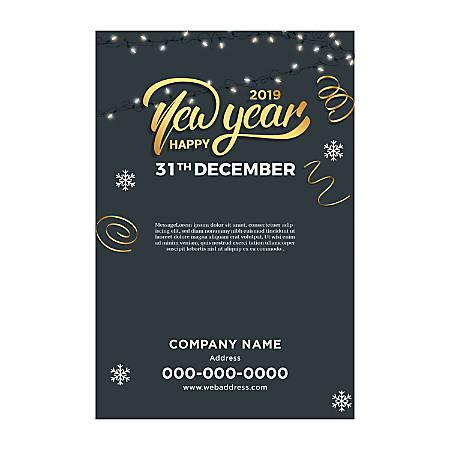 Poster Templates, Vertical, Light & Snow