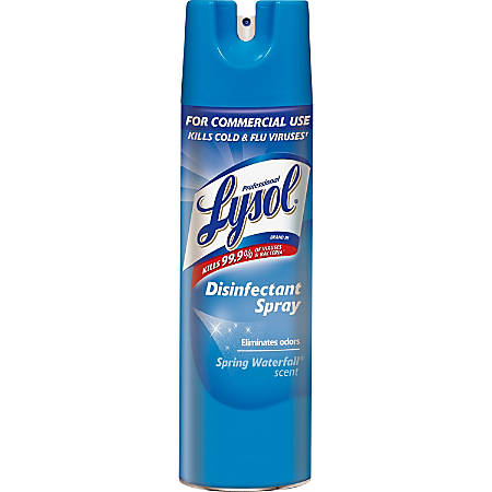 Lysol® Professional Disinfectant Spray, Spring Waterfall Scent, 19 Oz