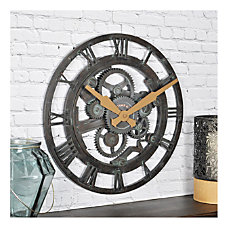 FirsTime Co Oxidized Gears Round Wall