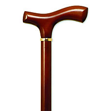 Alex Orthopedic Fritz Handle Wood Cane