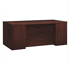 HON Foundation Laminate Breakfront Desk Shell