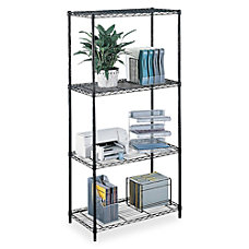 Safco Commercial Wire Steel Shelving Unit