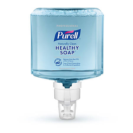 Purell® Professional CRT HEALTHY SOAP™ Naturally Clean Fragrance-Free Foam Hand Soap Refill, ES8, 40.58 Oz