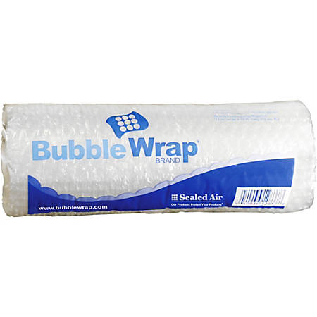 "Sealed Air Bubble Wrap Multi-purpose Material - 12"" Width x 10 ft Length - 1 Wrap(s) - Lightweight, Perforated - Clear"