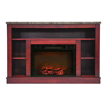 Cambridge Seville Fireplace Mantel with Electronic Fireplace Insert