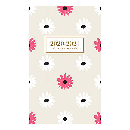 """Graphique de France 2-Year Academic Pocket Planner, 6"""" x 3-3/4"""", FSC® Certified, Oh So Chic"""