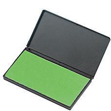 Charles Leonard Foam Stamp Pad Green