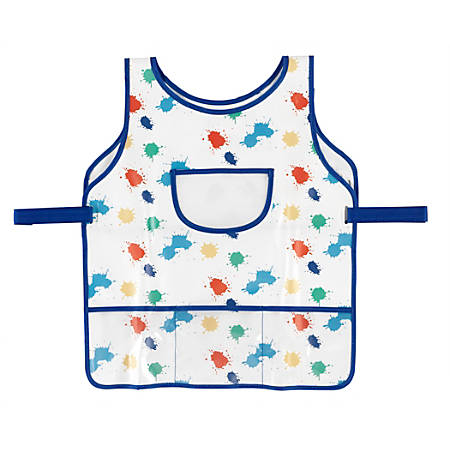 Office Depot® Art Smock With Pockets, One Size, Multicolor