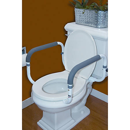 Carex® Toilet Support Rail