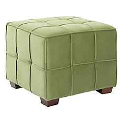 Ave Six Sheldon Tufted Ottoman GardenCoffee