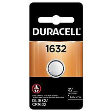 Duracell 3 Volt Lithium 1632 Coin