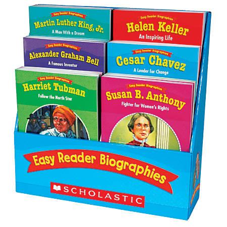 Scholastic Easy Reader Biographies