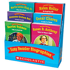 Scholastic Easy Reader Biographies
