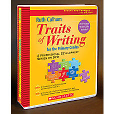 Scholastic DVD Traits Professional Development Grades